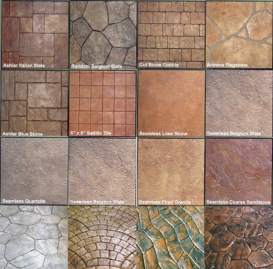 Stamped Concrete Project Planner West Coast Concrete Concrete